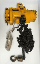 INGERSOLL RAND ML500K PNEUMATIC AIR CHAIN HOIST 1/2 TON 500 KGS 28 FT. CHAIN