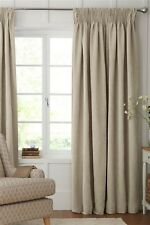 "NEXT Dove / Grey Soft Velour Lined Curtains 228 cm x 229 cm ( 89"" x 90"")."
