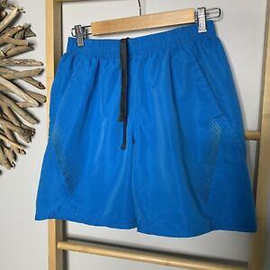 Target T30 Men's Size M 32 Running Sports Shorts Active Gym Blue Jogging Workout