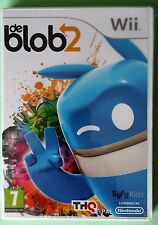 DE BLOB 2 NINTENDO PAINT & INK Wii GAME brand new & sealed UK