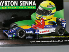 Minichamps Williams Renault FW14 Mansell Taxi Senna 1991 1/43
