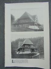 1910 6 Landhaus St. Blasien München Schule Gotinger Platz Berlin Hotel Esplanade