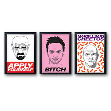 Breaking Bad Posters! 3 posters - 25% OFF! Walter White Jesse Pinkman Hank