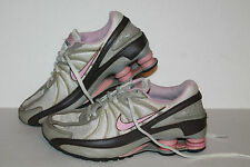 Nike Shox Turbo VII Running Shoes, #325067-161, Tan/Brown/Pink, US Youth 4 Y