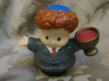 Fisher Price Little People Hanukkah Celebration Holiday Set Candle Boy Man Dad