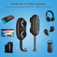 BEST Bluetooth Audio Transmitter Adapter For PS4 controller And Nintendo switch