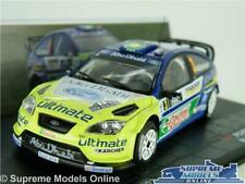 FORD FOCUS RS WRC MODEL RALLY CAR 1:43 SCALE 2007 IXO GRONHOLM NEW ZEALAND K8