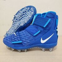 Nike Force Savage Elite 2 TF Blue Soldier Football Cleats Size 9.5 (AH3999-401)