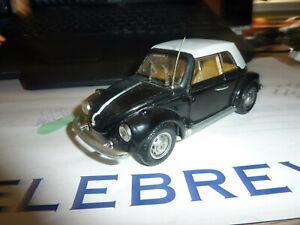 Vintage Polistil S15 VW Volkswagen Beetle 1303 Cabriolet Scale 1:25.