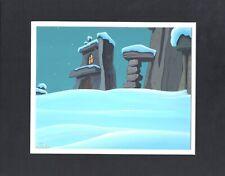 Flintstones Animation Cartoon Background Hanna Barbera 1994 Christmas Carol 42
