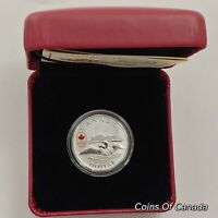 2014 Canada $1 Fine Silver Dollar Lucky Loonie Coin w/ Box + COA #coinsofcanada