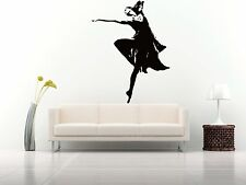 Wall Room Decor Art Vinyl Sticker Mural Decal Ballet Dance Women Ballerina FI384