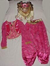 EEUC Disney Store Girls PRINCESS JASMINE Pink Aladdin Dress-Up Costume Sz 7/8