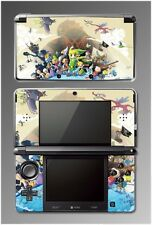 Legend of Zelda Wind Waker Link Tetra Tingle Video Game SKIN Cover Nintendo 3DS