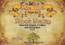 Age Old Organics Dry Root Rally W Mycorrhizae 1lb or 5lb Endo + Ecto Spores