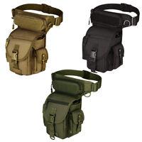 Tactical Drop Leg Bag Thigh Pouch Waist Belt Pack Outdoor Accessories Bag Holder