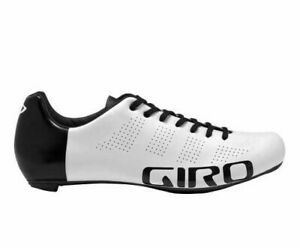 GIRO Empire ACC Road Cycling Shoes Men's Size UK 8.5, EU 43 Black/White Unisex