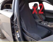 Throw Over Slip On Car Seat Cover Fit More Than One Vehicle Auto Black