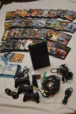 JAPAN PS2 SONY PLAYSTATION FAT CONSOLE & GAMES BUNDLE