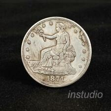 Silver Old In God We Trust Round Iron Commemorative Coin Coins Collection: