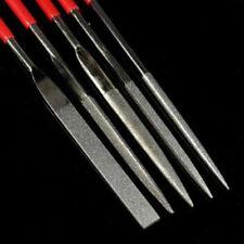 5PCS 3 x 140mm Diamond Needle File Coated Riffler Set Jewelry Repair Tools New