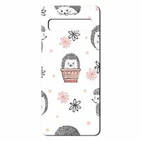 For Samsung Galaxy S10 Silicone Case Hedgehog Pattern - S2251