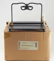 NOS Longaberger Paper Napkin Holder Wrought Iron Foundry Collection Original Box