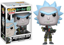 Funko Pop! Animation: Rick & Morty - Weaponized Rick Toy
