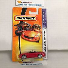 Mercedes-Benz SL55 AMG #19 * RED * Matchbox * NF15