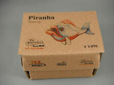 Wind Up Tin Toy - Piranha Fish Head