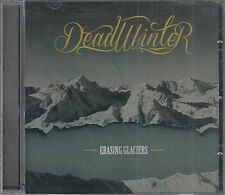 Dead Winter Erasing Glaciers CD Uber Rock Brutal Guitar Riff Thunderous Drumming