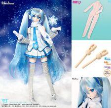 VOLKS Dollfie Dream Snow Hatsune Miku Vocaloid 1/3 DD 3Set Japan Soft Vinyl