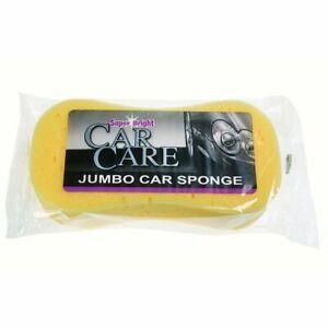 Superbright Jumbo Car Sponge /3 For £6/ (Large, Cleaning, Washing, Valeting)