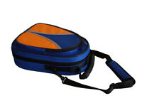CLARINET CASE  -Case ONLY -Blue/Orange -Brand New
