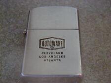 OLD UNUSED UNLIT ATC JAPAN ADVERTISEMENT LIGHTER AUTOWARE CLEVELAND L.A. ATLANTA