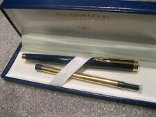Waterman Fine Tip Pen + Ink Refill