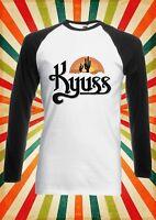 Kyuss Rock Band Singer Song Men Women Long Short Sleeve Baseball T Shirt 1876