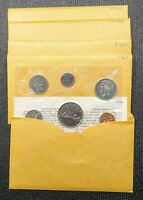 Canada Lot Of 5 1968 Proof Like Uncirculated Mint Sets