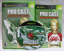 Pro Cast Sports Fishing Game Original Xbox Game Complete