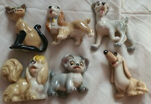 Wade Lady and The Tramp figures Disney PLEASE READ FULL DESCRIPTION L@@K