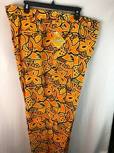 MENS LOUDMOUTH X GOLF PANTS 53 X 26 CHIRP CHIRP NEW WITH TAGS