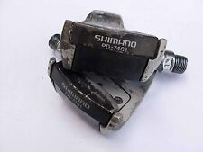 Use road bicycle pedals vintage Shimano PD- 7401 Dura Ace France type look