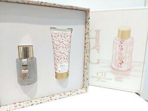 NEW - Carolina Herrera CH L'eau Eau Fraiche - EDT 50ml & Body Lotion - Gift Set