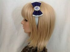 Harry Potter Ravenclaw headband hair bow rockabilly pin up geek slytherin crest