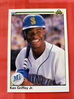 MINT Centered 1990 Upper Deck #156 Ken Griffey Jr. Baseball Card MT SHARP!!