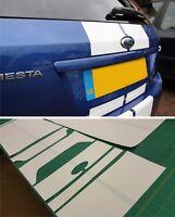 Ford Fiesta ST MK6 XR Zetec OTT stripes Decals stickers full panel fit fits ZS