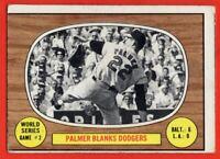 1967 Topps #152 Jim Palmer VG-VGEX  Dodgers Baltimore Orioles HOF FREE S/H