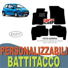 PER PEUGEOT 107 TAPPETINI AUTO SU MISURA IN MOQUETTE CON BATTITACCO | EASY