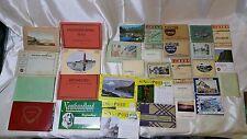 Vintage Postcard Lot: Mostly European Locales