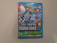 New Super Mario Bros. U (Nintendo Wii U, 2012) Complete